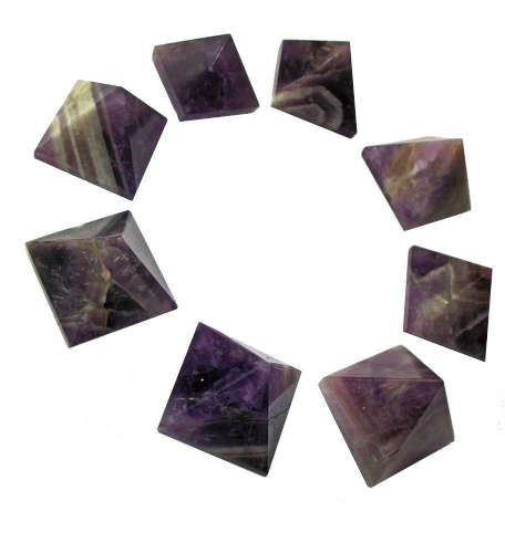 Amethyst Gemstone Crystal Pyramid